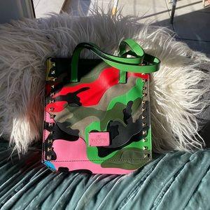 Valentino Garavani camouflage pattern bag
